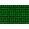 Thumbprintz Line Dots Emerald Rug