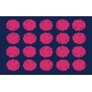 Thumbprintz Pod Dots Blue Rug