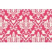Thumbprintz Francie Damask Pink Area Rug