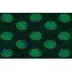 Thumbprintz Big Dots Emerald Area Rug
