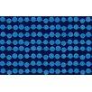 Thumbprintz Line Dots Navy Rug