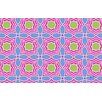 Thumbprintz Amina Star Pink Area Rug