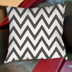 Thumbprintz Zig Zag Printed Throw Pillow