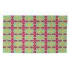 Thumbprintz Anima 2 Star Pink/Green Area Rug