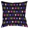 Thumbprintz Banias Oval Printed Throw Pillow