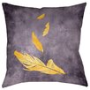 Thumbprintz Feather Float Printed Throwv Pillow