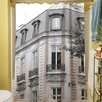 Thumbprintz A Travers Paris II Shower Curtain