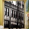 Thumbprintz Urban Façade Shower Curtain