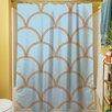 Thumbprintz Art Deco Circles Shower Curtain