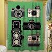 Thumbprintz Cameras Shower Curtain