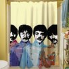 Thumbprintz Sixties Legacy Shower Curtain