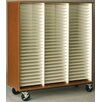 """Stevens ID Systems Music 55"""" Band/Orchestra Folio Storage with Casters"""