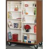 """Stevens ID Systems Mobiles Double Sided 67"""" Standard Bookcase"""