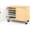 Stevens ID Systems Mobiles Paper Storage with Lock