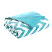 Intelligent Design Chevron Throw Blanket