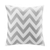 Intelligent Design Chevron Throw Pillow