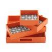 Intelligent Design Lita 4 Piece Decorative Tray Set