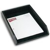Dacasso 1000 Series Classic Leather Front-Load Legal Tray in Black