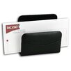 Dacasso 1000 Series Classic Leather Letter Holder in Black