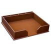 Dacasso 3200 Series Leather Conference Pad Holder in Rustic Brown