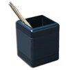Dacasso 8000 Series Blackwood and Leather Pencil Cup in Blackwood