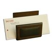 Dacasso 8000 Series Walnut and Leather Letter Holder