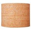 "Ziqi Home 13"" Natural Cork Drum Lamp Shade"