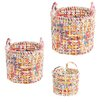 Ian Snow 3 Piece Recycled Basket Set