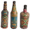 Ian Snow 3 Piece Decorative Bottle Set