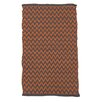 Ian Snow Hand-Woven Orange Area Rug
