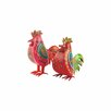 Ian Snow Roosters Figurine (Set of 2)