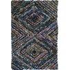 Ian Snow Hand-Woven Navy Area Rug