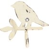 Ian Snow Bird on Twig Wall Hook (Set of 2)