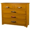Ian Snow 5 Drawer Wooden Chest