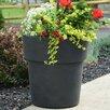 Grosfillex Commercial Resin Furniture Solta Round Pot Planter (Set of 3)