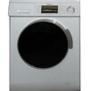 Equator 1.6 cu. ft. Front Load Washer with Silver Trim