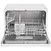 "Equator Midea 21.7"" 53dBA Compact Dishwasher in White"
