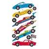 Jillson & Roberts Bulk Roll Prismatic Racing and Sports Car Sticker