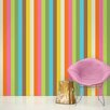 "WallCandy Arts French Bull Izzy 2.17' x 26"" Stripes Wallpaper"