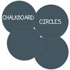 WallCandy Arts Circles Removable Chalkboard Wall Decal (Set of 4)