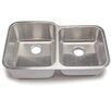 """Hahn Blanco Stellar 32.33"""" x 20.5"""" 1.8 Bowl Kitchen Sink"""