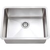 "Hahn Chef Series 23"" x 18"" Single Bowl Kitchen Sink"