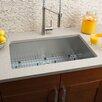 """Hahn 30"""" x 18"""" Single Bowl Kitchen Sink"""