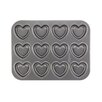 Cake Boss Non-Stick 37.81 cm Carbon Steel Heart Cookie Pan