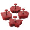 Cake Boss 4 Piece Spring Fondant Press Set