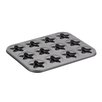 Cake Boss Non-Stick 37.8 cm Star Carbon Steel Cookie Pan
