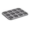 Cake Boss Non-Stick 37.8 cm Round Braided Carbon Steel Cookie Pan