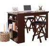 Woodhaven Hill Mably 3 Piece Counter Height Dining Set
