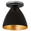 Bruck Lighting Cleo 1 Light Semi Flush Mount