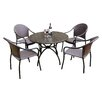 Summer Terrace Fleuretta 4 Seater Dining Set